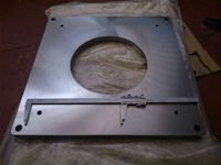 800 x 800 x50 thick Base Plate S355 J2 +N material